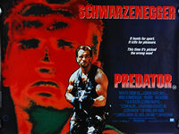 Predator (1987) -Original British Quad Movie Poster