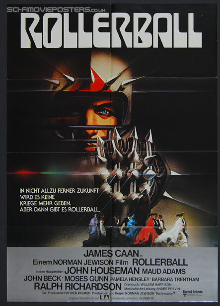 Rollerball (1975) - Original German Movie Poster