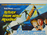 Return from Witch Mountain (1978) - Original British Quad Movie Poster