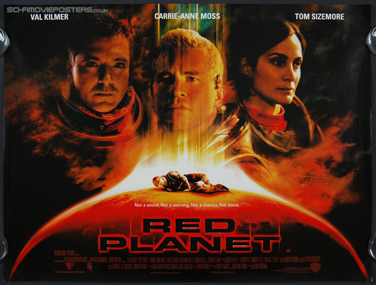 Red Planet (2000) - Original British Quad Movie Poster