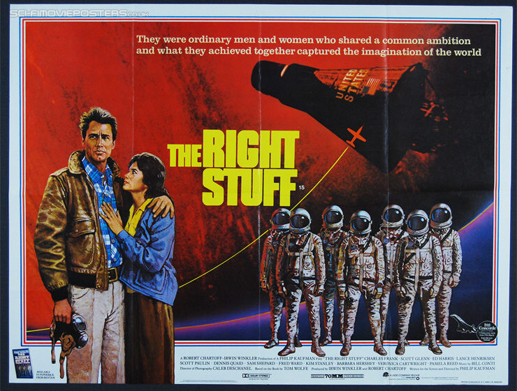 Right Stuff, The (1983) - Original British Quad Movie Poster