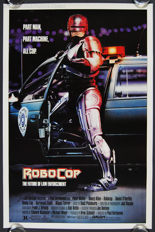 RoboCop (1987) - Original US One Sheet Movie Poster