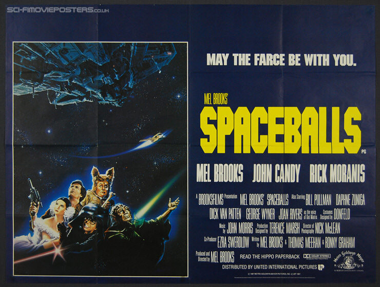 Spaceballs (1987) - Original British Quad Movie Poster