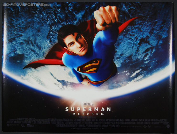 Superman Returns (2006) - Original British Quad Movie Poster