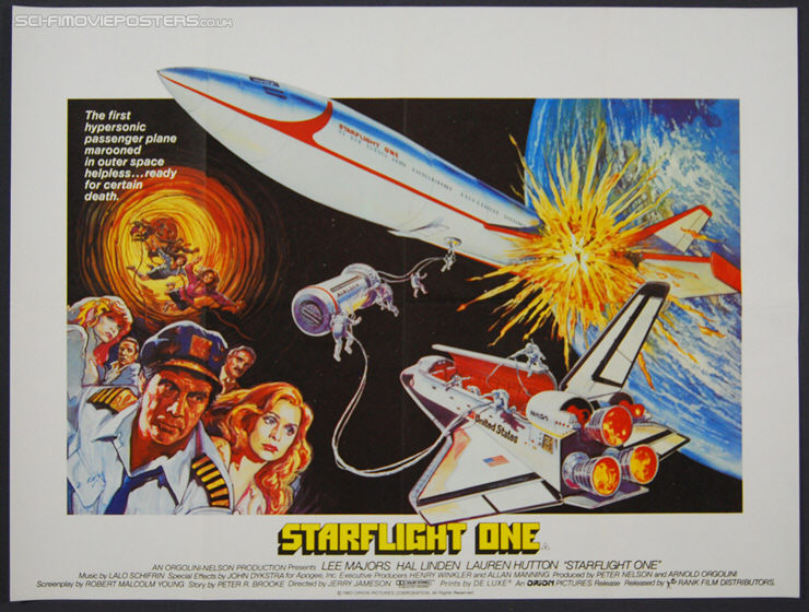 Starflight One (1983) - Original British Quad Movie Poster