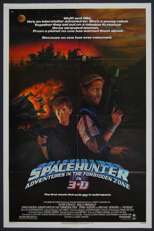 Spacehunter: Adventures in the Forbidden Zone (1983) - Original US One Sheet Movie Poster