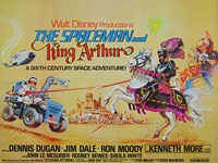 Spaceman and King Arthur, The (1979) - Original British Quad Movie Poster