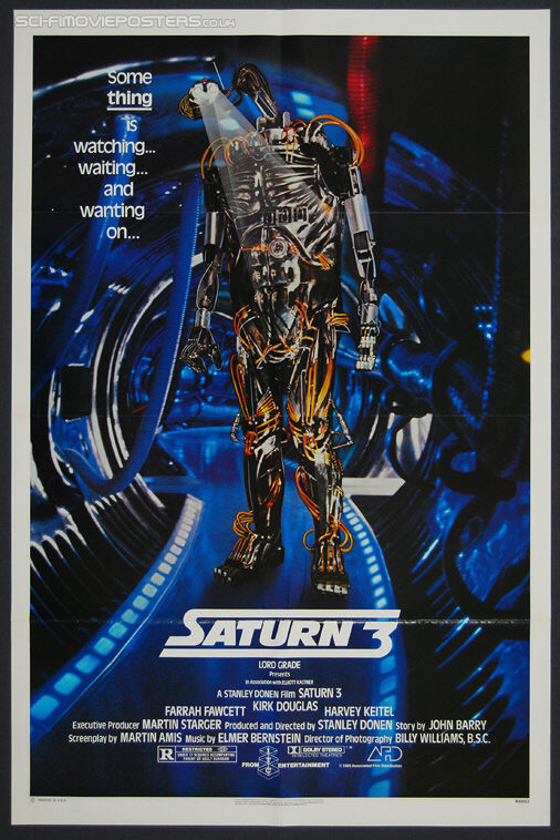 Saturn 3 (1980) - Original US One Sheet Movie Poster