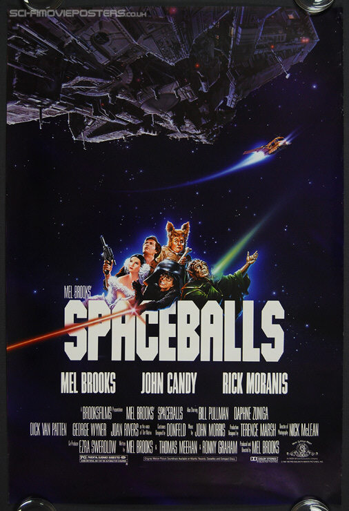 Spaceballs (1987) - Original US One Sheet Movie Poster