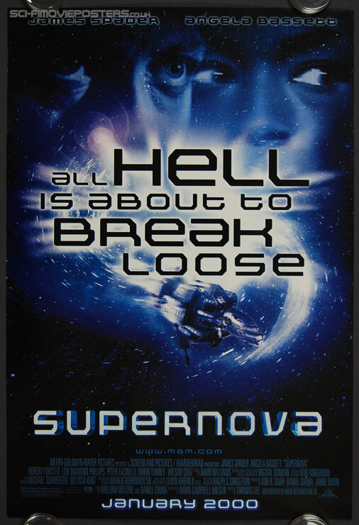 Supernova (2000) - Original US One Sheet Movie Poster