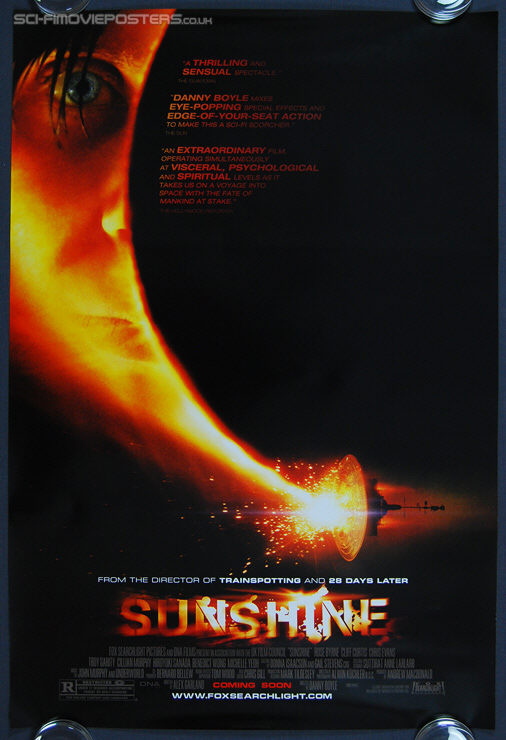 Sunshine (2007) - Original US One Sheet Movie Poster