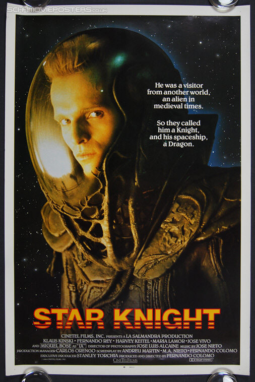 Star Knight (El Caballero del Dragón) (1985) - Original US One Sheet Movie Poster