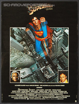 Superman (1978) - Original French Movie Poster