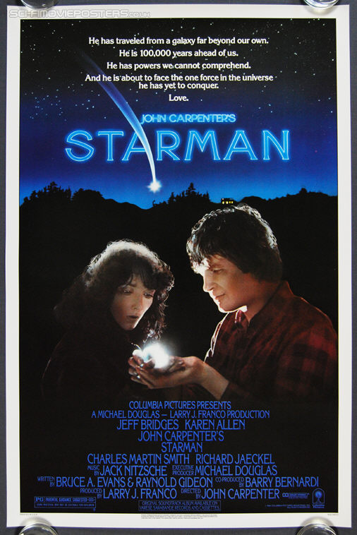 Starman (1984) - Original US One Sheet Movie Poster