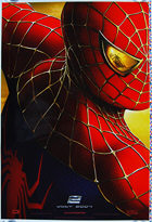 Spider-Man 2 (2004) 'Red' Advance Printer's Proof - Original US One Sheet Movie Poster