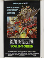 Soylent Green (1973) - Original US One Sheet Movie Poster