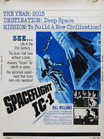 Spaceflight IC-1: An Adventure in Space (1965) - Original US One Sheet Movie Poster