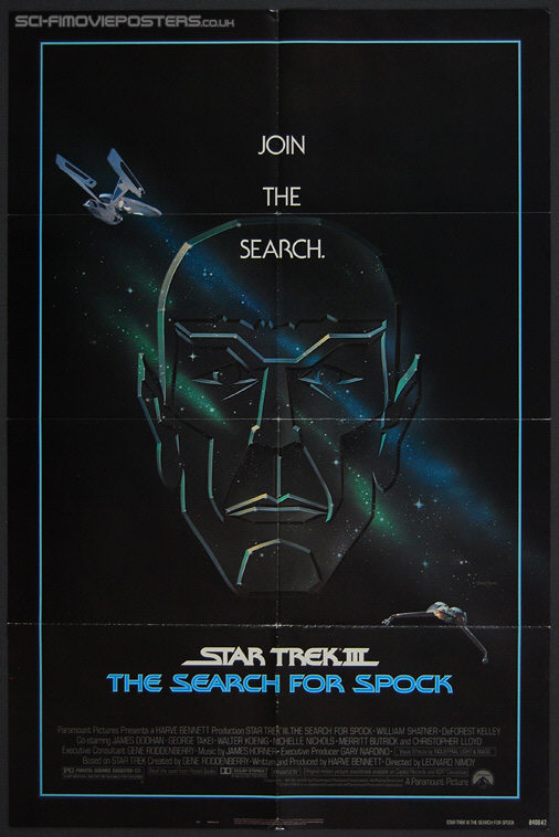 Star Trek III: The Search for Spock (1984) - Original US One Sheet Movie Poster