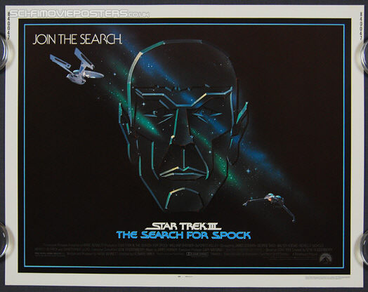 Star Trek III: The Search for Spock (1984) - Original US Half Sheet Movie Poster