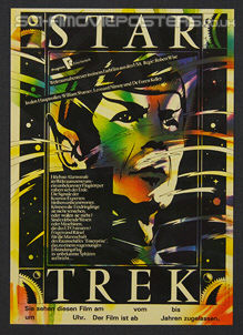 Star Trek: The Motion Picture (1979) - Original East German Movie Poster