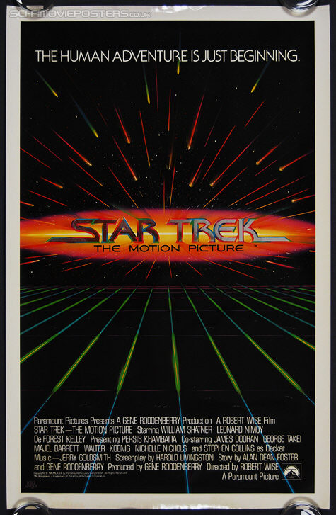 Star Trek: The Motion Picture (1979) Advance (Mylar) - Original US One Sheet Movie Poster