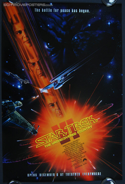 Star Trek VI: The Undiscovered Country (1991) - Original US One Sheet Movie Poster
