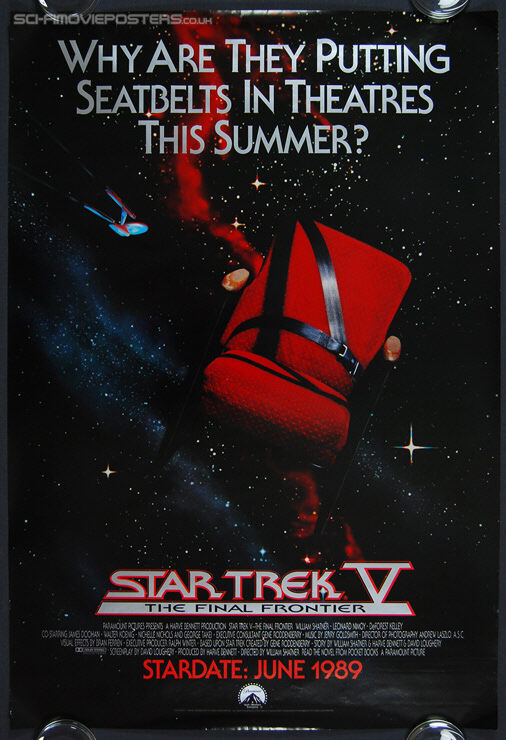 Star Trek V: The Final Frontier (1989) Advance - Original US One Sheet Movie Poster