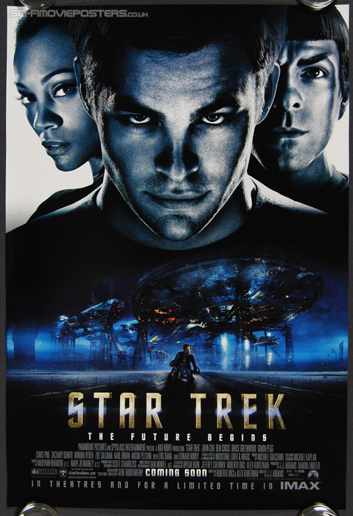 Star Trek: The Future Begins (2009) International 'A' - Original One Sheet Movie Poster