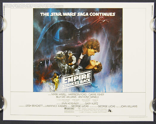 Star Wars: The Empire Strikes Back (1980) - Original US Half Sheet Movie Poster