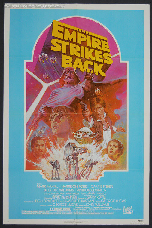 Star Wars: The Empire Strikes Back (1980) Re-release 1982 - Original US One Sheet Movie Poster