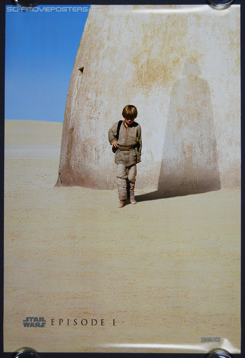 Star Wars: Episode I - The Phantom Menace (1999) Advance - Original US One Sheet Movie Poster