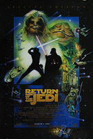 Star Wars: Return of the Jedi (1983) Special Edition 1997 'D' (March 7) - Original US One Sheet Movie Poster