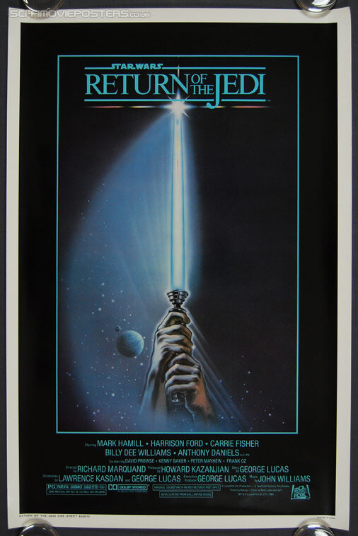 Star Wars: Return of the Jedi (1983) Style 'A - Original US One Sheet Movie Poster