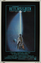 Star Wars: Return of the Jedi (1983) Style 'A' - Original US One Sheet Movie Poster