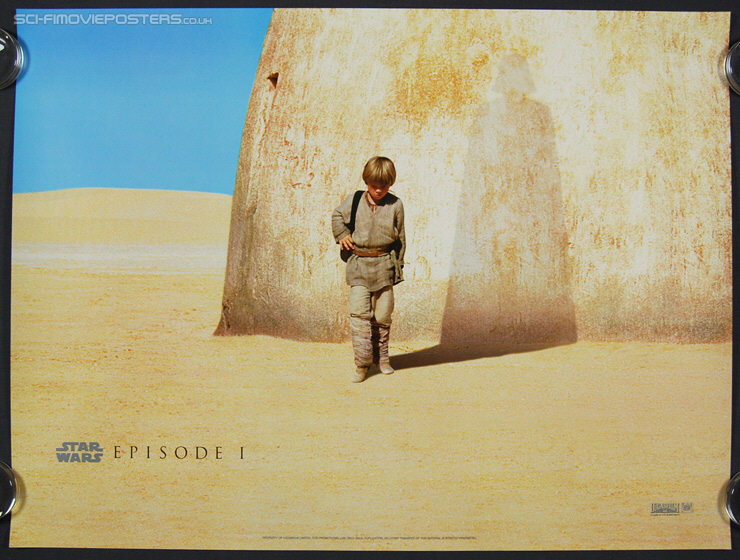 Star Wars: Episode I - The Phantom Menace (1999) Advance - Original British Quad Movie Poster