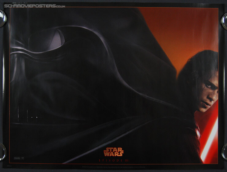 Star Wars: Episode III - Revenge of the Sith (2005) Advance - Original British Quad Movie Poster