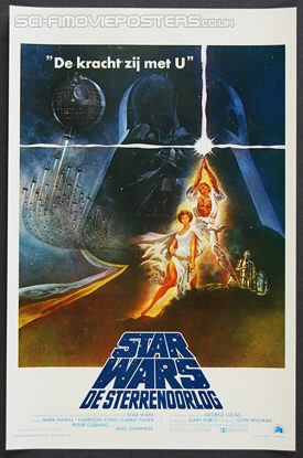 Star Wars (1977) - Original Belgian Movie Poster