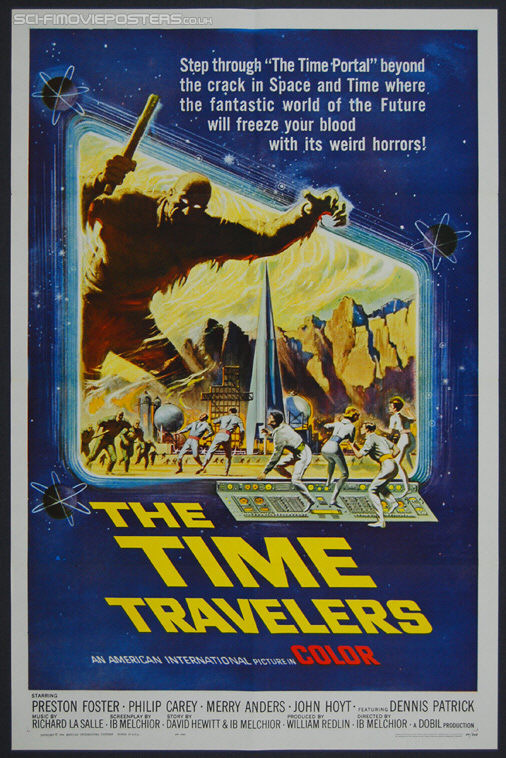 Time Travelers, The (1964) - Original US One Sheet Movie Poster