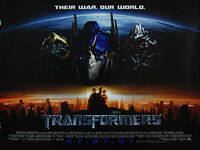 Transformers (2007) - Original British Quad Movie Poster