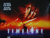 Timeline (2003) - Original British Quad Movie Poster