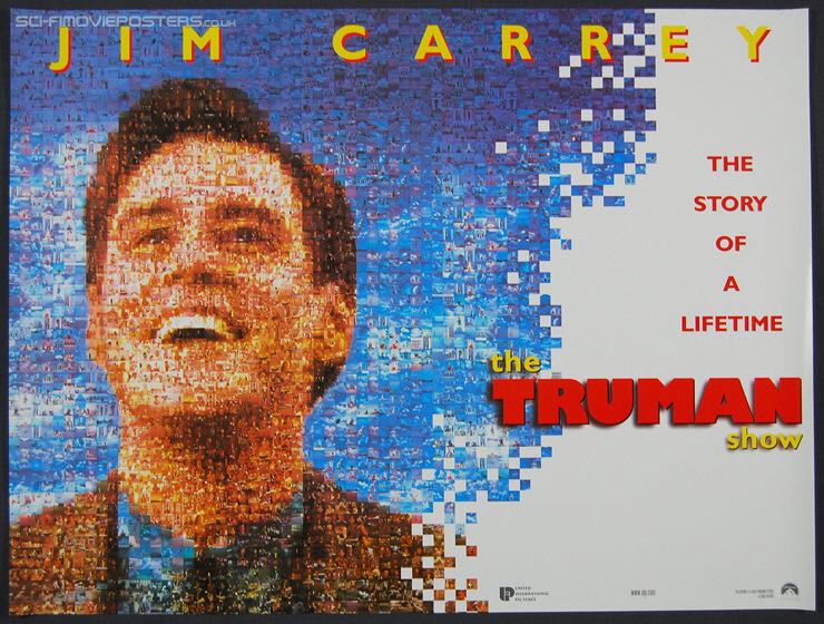 Truman Show, The (1998) 'Montage' - Original British Quad Movie Poster