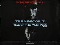 Terminator 3: Rise of the Machines (2003) - Original British Quad Movie Poster