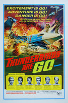 Thunderbirds Are Go (1966) - Original US One SheetMovie Poster