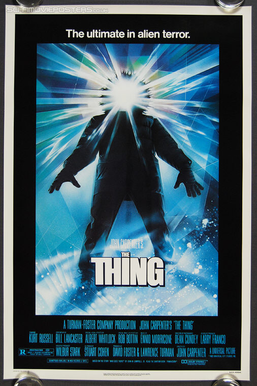 Thing, The (1982) - Original US One Sheet Movie Poster
