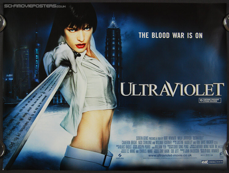 Ultraviolet (2006) - Original British Quad Movie Poster