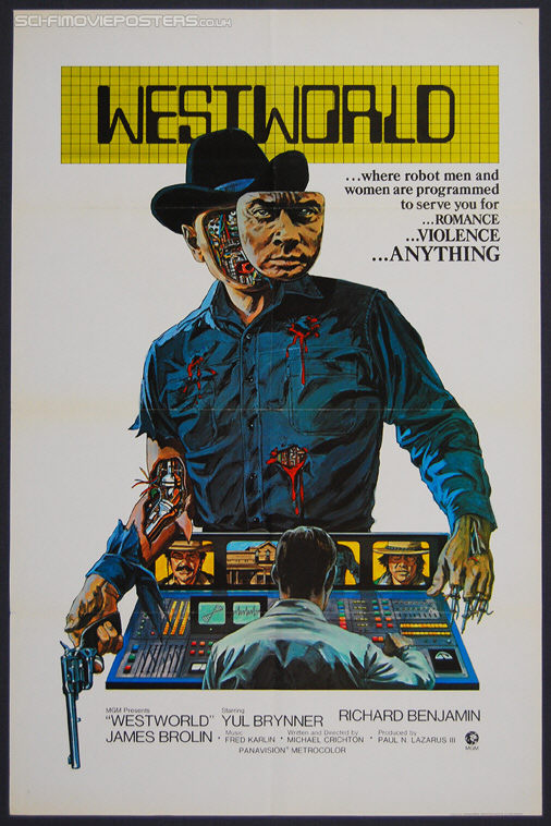 Westworld (1973) Advance - Original US One Sheet Movie Poster